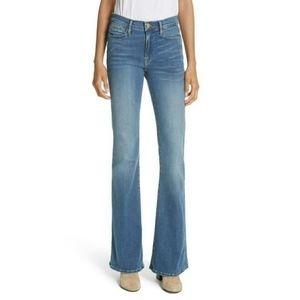 NWT FRAME Le High Flare Columbus jeans